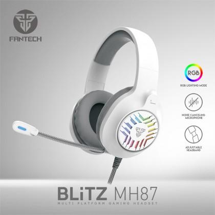 FANTECH MH87 BLiTZ Multi-Platform RGB Gaming Headset - Sakura, Black & Space Edition