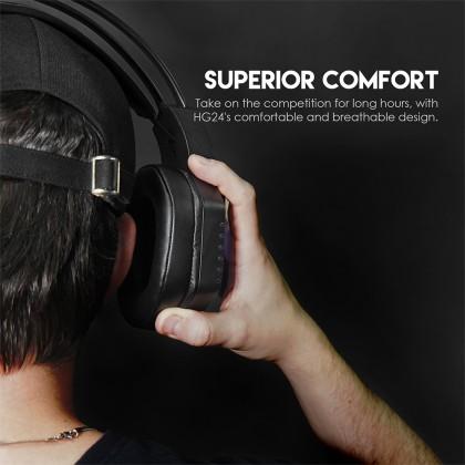 Fantech Gaming Headset HG24 Spectre II Gaming Headset Virtual Surround Sound 7.1 For phone pc desktop mobile