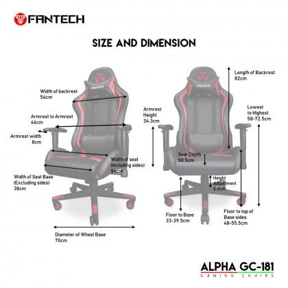 FANTECH ALPHA GC-181 Seat Gaming Chair