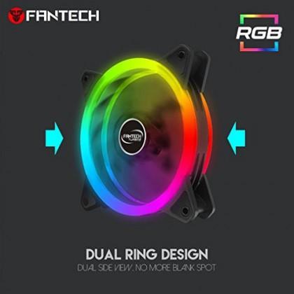 FANTECH FC-124 TURBINE Computer Casing Fan (RGB Modes)