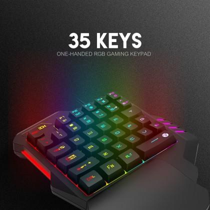 FANTECH ARCHER K512 One-Handed RGB Gaming Keypad